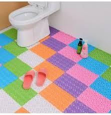 tappeti fai da te fai da te colori caramelle tappetini da bagno in plastica