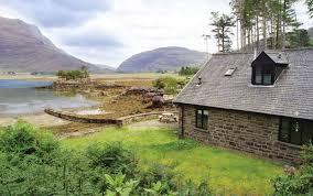 boat house luxury self catering accommodation beside loch torridon
