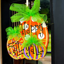 58 halloween pumpkin door decoration halloween door window