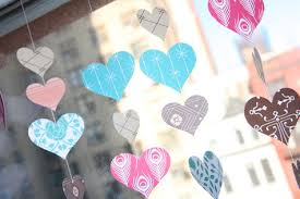 Window Decorations For Valentine S Day by Windows Hanging Windows As Decoration Decor Diy Hanging Window