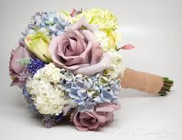 Shabby Chic Wedding Bouquets by Garden Wedding Bouquet Lavender Rose Hydrangea Shabby Chic Wedding