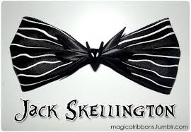 skellington ribbon skellington bow magical ribbons
