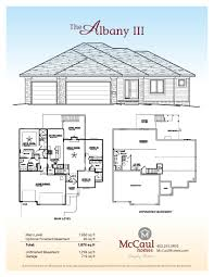 Custom Floor Plans For New Homes by Floor Plans Mccaul Homes