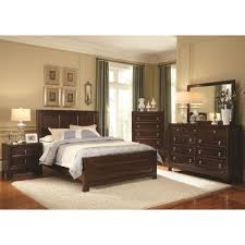 Beautiful Dark Wood Bedroom Sets Photos Home Design Ideas - Dark wood queen bedroom sets