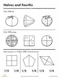 collections of fractions for kindergarten worksheets wedding ideas