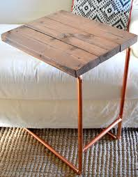 Make A Cheap End Table by Best 25 Diy Desk Ideas On Pinterest Desk Ideas Desk And Craft