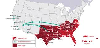 Amarillo Zip Code Map by Averitt Strengthens Ltl Service To West Coast 2012 News