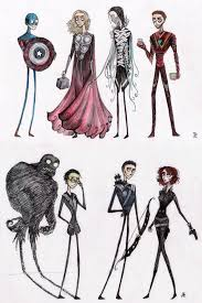 the tim burton style neatorama