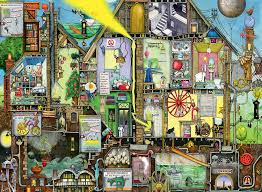 ravensburger colin thompson tomorrow u0027s world 500pc jigsaw puzzle
