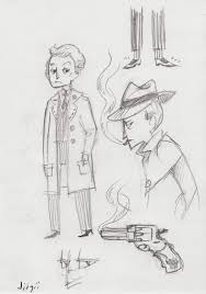 toucan party film noir spies and zombie killers sketches