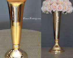 Pilsner Vases Bulk Gold Vases Etsy