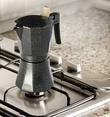 stove top osaka coffee stovetop espresso maker aluminum with marbled