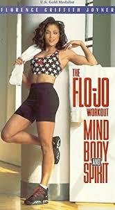 Flo Amazon Com The Flo Jo Workout Mind Body And Spirit Vhs