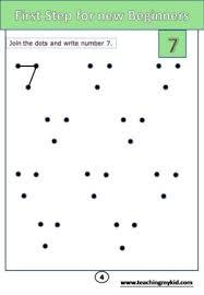 practice worksheets math practice number 7