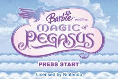 barbie magic pegasus game boy advance cutting
