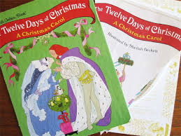 12 days of golden book bunting