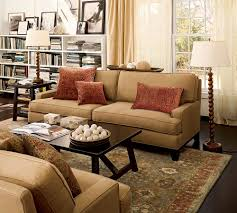 Pottery Barn Tanner Coffee Table by Pottery Barn Living Room I Can See Two Couches Or Loveseats Facing