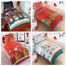 Double Christmas Duvet Christmas Duvet Covers Various Designs Available In Single