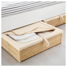 Under Bed Storage Ideas Römskog Bed Storage Box Rattan 65x70 Cm Bed Storage Storage