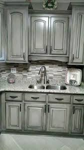 Painted Kitchen Cabinets White Our Oak Kitchen Makeover Oak Kitchen Cabinets Subway Tile