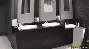 Bathroom Mirror Prank Mirror Prank Gif Gif Animation Animated