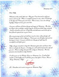 personalized baby u0027s first christmas letter from santa 8 2012