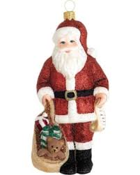 great deal on reed barton classic santa with toys ornament