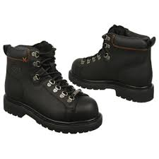 womens steel toe boots near me harley davidson gabby steel toe work boot black leather