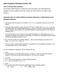 hardy weinberg practice problems 1 answers