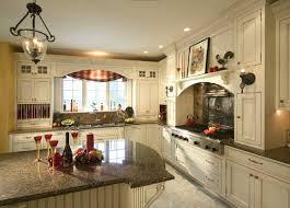 Antique White Kitchen Cabinets Kitchen Mesmerizing Antique White Country Kitchen Cabinets