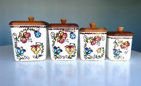 100 kitchen canisters french 100 rooster kitchen canister