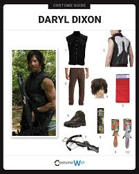 Carl Grimes Halloween Costume Dress Daryl Dixon Costume Halloween Cosplay Guides