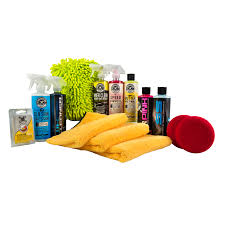 professional window cleaning equipment chemical guys hol123 complete car care kit 14 items
