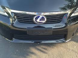 lexus plate frame front license plate delete options