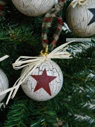 country ornaments for trees lights decoration