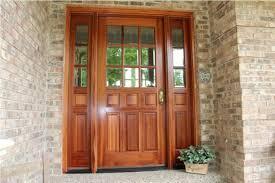 Patio Door Sidelights Exterior Doors With Sidelights Wholesale Clearance Wood Regarding