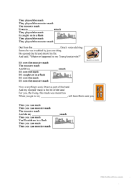halloween songs youtube monster mash the monster mash worksheet free esl printable worksheets made by