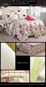fashion girls fairy floral bedding set flower garden bed linen