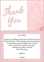 33 best funeral thank you cards love lives on