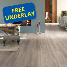 Laminate Floor Scotia Beading Quick Step Impressive Im1858 Saw Cut Oak Grey Laminate Flooring