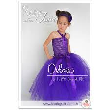 robe violette mariage robe tutu cérémonie en tulle bébé fille demoiselle d honneur mariage