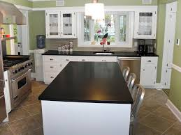 what color cabinets match black granite granite countertops hgtv