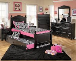 Pink And Black Rugs Kids Room Beautiful Kids Bedroom Ideas For Girls Offers Lovely