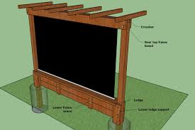 Backyard Movie Theatre by Show Thyme How To Build An Outdoor Theater In Your Garden The