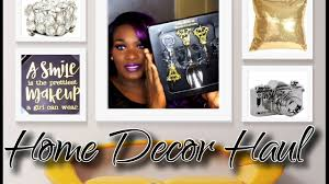home decor haul 2017 ross stores marshall u0027s burlington hobby