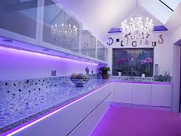 Led Lights In The Kitchen by Led Kitchen Lighting Illuminated Light Panels