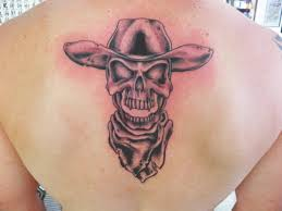 tattoo ideas for juggalos and jugalettes black and red juggalo tattoos on man upper back