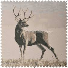 beige colour beige brown colour full body stag animal in scenery pattern soft