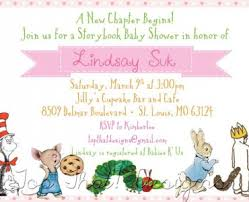 storybook themed baby shower storybook themed baby shower invitations storybook themed baby