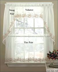 kitchen curtains and valances ideas kitchen valance ideas worldstem co